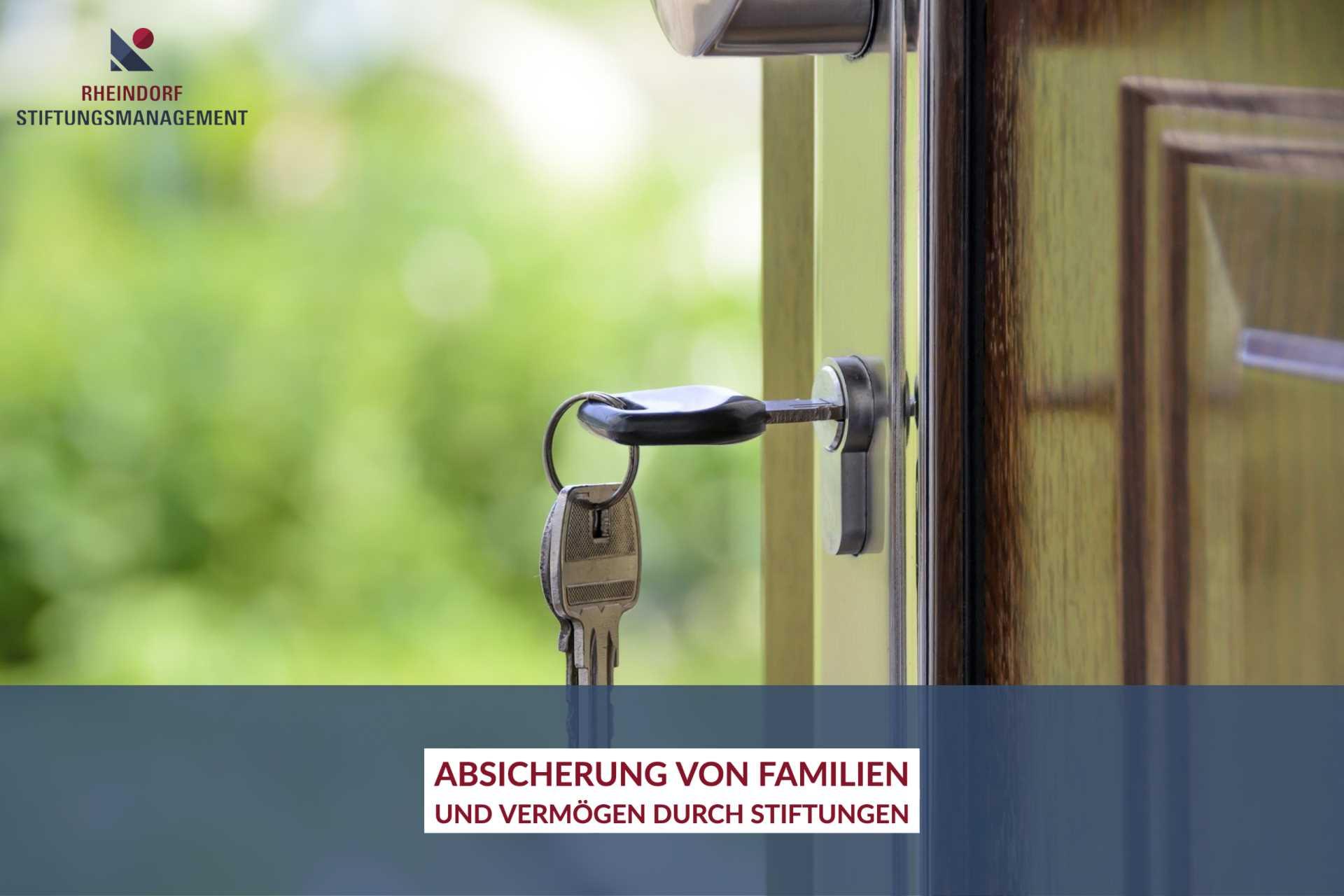 Familienstiftung: Absicherung für Familie und Vermögen