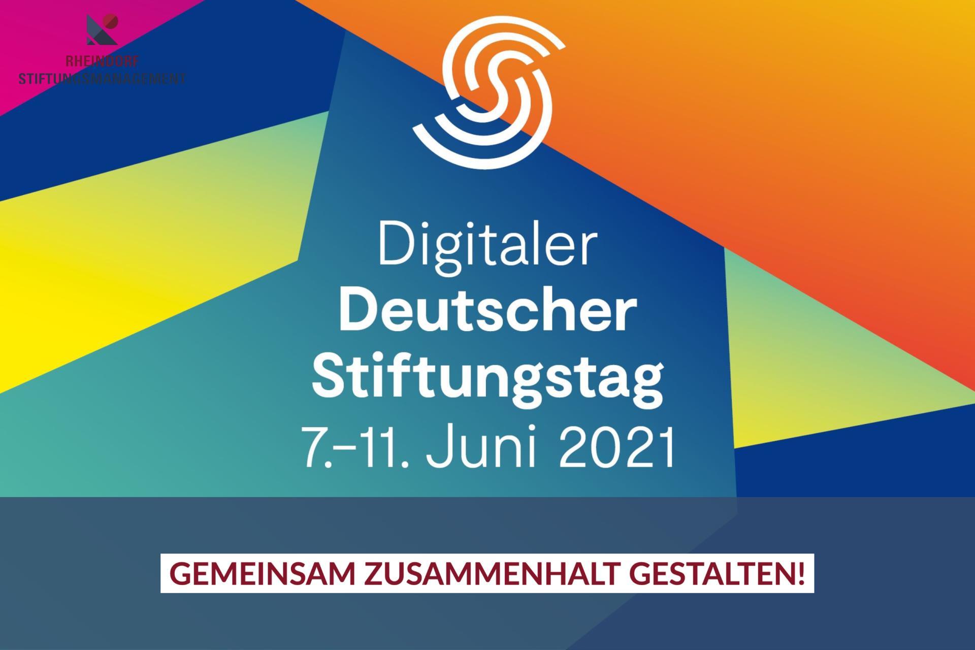 Digitaler Deutscher Stiftungstag 2021 – wir waren dabei!